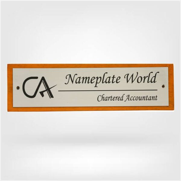 Nameplate for CA