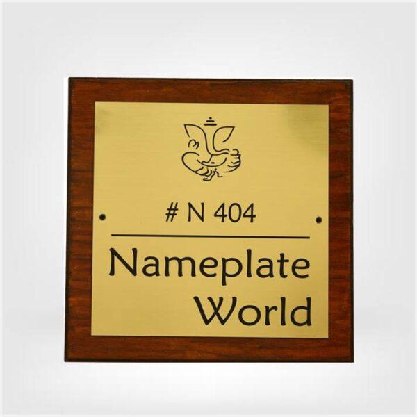 Premium Nameplate