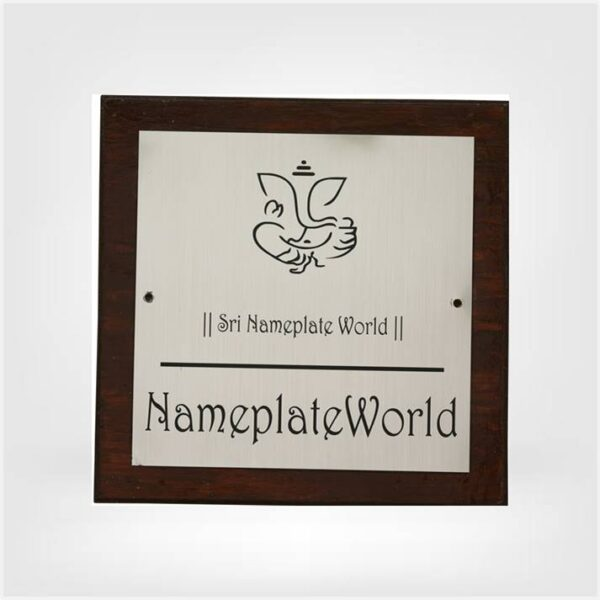 Personalized Premium Nameplate
