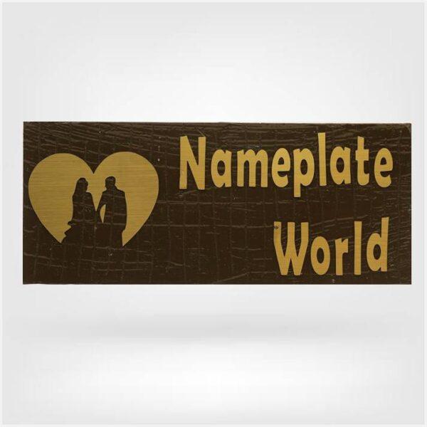 Love Nameplate