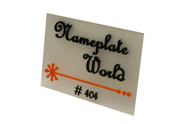 Side View Nameplate
