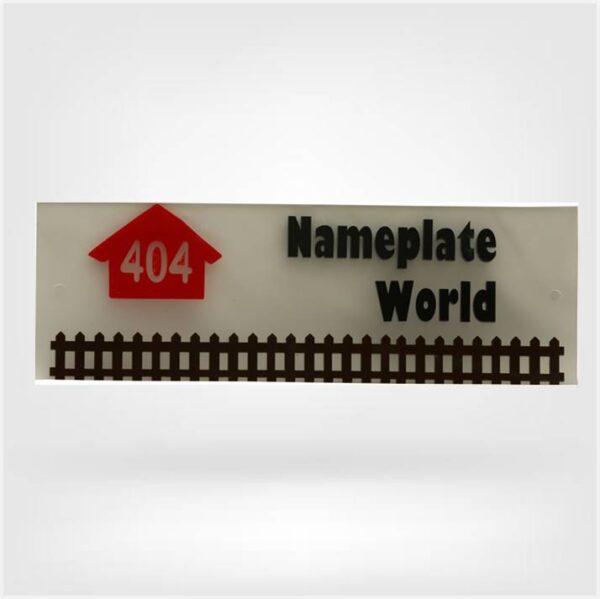 Home Nameplate